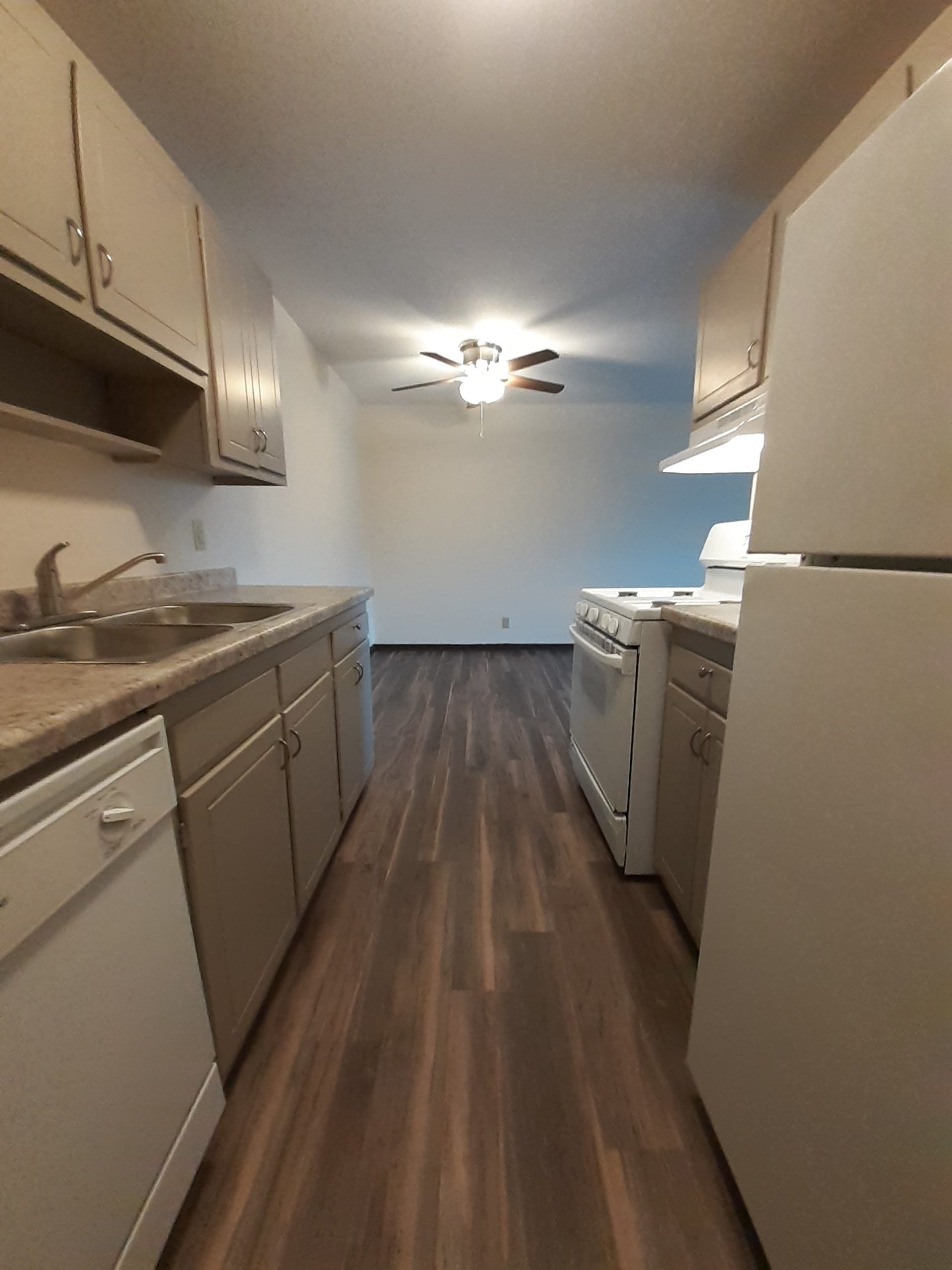 Updated Kitchen Flooring at New Brighton View